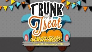 Trunk or Treat @ Crockett Elementary PTO Parking Lot